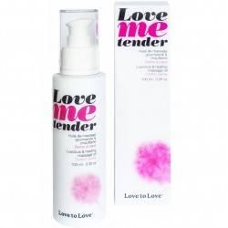 LOVE TO LOVE ME TENDER MASAJE & EFECTO CALOR SABOR A NUBES ALGODON 100ML