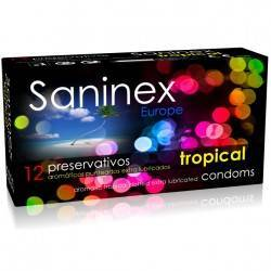 SANINEX PRESERVATIVOS TROPICAL AROMATICO 12 UDS