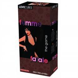 LOVE CUBES JUEGO FEMME FATALE