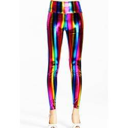 QUEEN LINGERIE LEGGING RAINBOW
